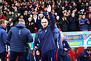 Nottingham Forest manager Martin O'Neill during the EFL Sky Bet Championship match between Nottingham Forest and Bristol City at the City Ground, Nottingham, England on 19 January 2019.