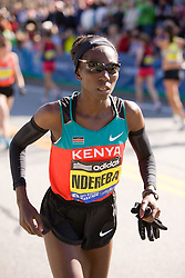 """Catherine """"The Great"""" Ndereba warms up"""