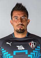 Mexico League - BBVA Bancomer MX 2014-2015 -<br /> Rojinegros - Club Atlas de Guadalajara Fc / Mexico - <br /> Miguel Angel Fraga