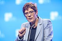 12 NOV 2019, BERLIN/GERMANY:<br /> Annegret Kramp-Karrenbauer, CDU, Bundesvorsitzende und Bundesverteidigungsministerin, haelt eine Rede, Deutscher Arbeitgebertag 2019, Bundesverband Deutscher Arbeitgeber, BDA, Estrell Convention Center<br /> IMAGE: 20191112-01-438