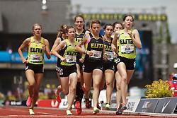 2012 USA Track & Field Olympic Trials: Hannah Meier, high school girls mile,