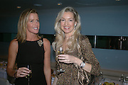 India Hicks and Vanessa Scott. Launch dinner for Island Beauty by India Hicks hosted by Charles Finch and Harvey Nichols Fifth Floor Restaurant. London. .  14  November 2005 . ONE TIME USE ONLY - DO NOT ARCHIVE © Copyright Photograph by Dafydd Jones 66 Stockwell Park Rd. London SW9 0DA Tel 020 7733 0108 www.dafjones.com