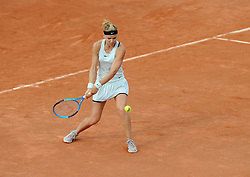May 23, 2018 - France - Internationaux de tennis de Strasbourg - Lucie Safarova republique Tcheque (Credit Image: © Panoramic via ZUMA Press)