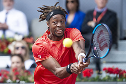 May 9, 2018 - Madrid, Spain - French Gael Monfils during Mutua Madrid Open 2018 at Caja Magica in Madrid, Spain. May 09, 2018. (Credit Image: © Coolmedia/NurPhoto via ZUMA Press)