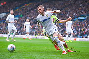 Liam Cooper of Leeds United (6) in action during the EFL Sky Bet Championship match between Leeds United and Sheffield United at Elland Road, Leeds, England on 16 March 2019.