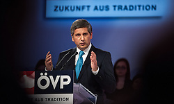 15.05.2013, Hofburg, Wien, AUT, OeVP, Oesterreich-Rede von OeVP Bundesparteiobmann. im Bild Bundesparteiobmann und Vizekanzler Michael Spindelegger // Vice chancellor and Minister of Foreign Affairs Michael Spindelegger OeVP during speech of OeVP Chairman, Hofburg, Vienna, Austria on 2013/05/15, EXPA Pictures © 2013, PhotoCredit: EXPA/ Michael Gruber