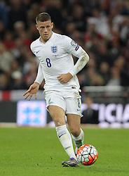 Ross Barkley of England - Mandatory byline: Paul Terry/JMP - 07966 386802 - 09/10/2015 - FOOTBALL - Wembley Stadium - London, England - England v Estonia - European Championship Qualifying - Group E