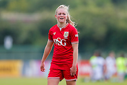 Millie Farrow of Bristol City Women looks on after a 2-1 win - Mandatory byline: Rogan Thomson/JMP - 09/07/2016 - FOOTBALL - Stoke Gifford Stadium - Bristol, England - Bristol City Women v Milwall Lionesses - FA Women's Super League 2.