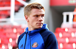 Duncan Watmore of Sunderland arrives at The Bet365 Stadium for the Premier League fixture with Stoke City - Mandatory by-line: Robbie Stephenson/JMP - 15/10/2016 - FOOTBALL - Bet365 Stadium - Stoke-on-Trent, England - Stoke City v Sunderland - Premier League