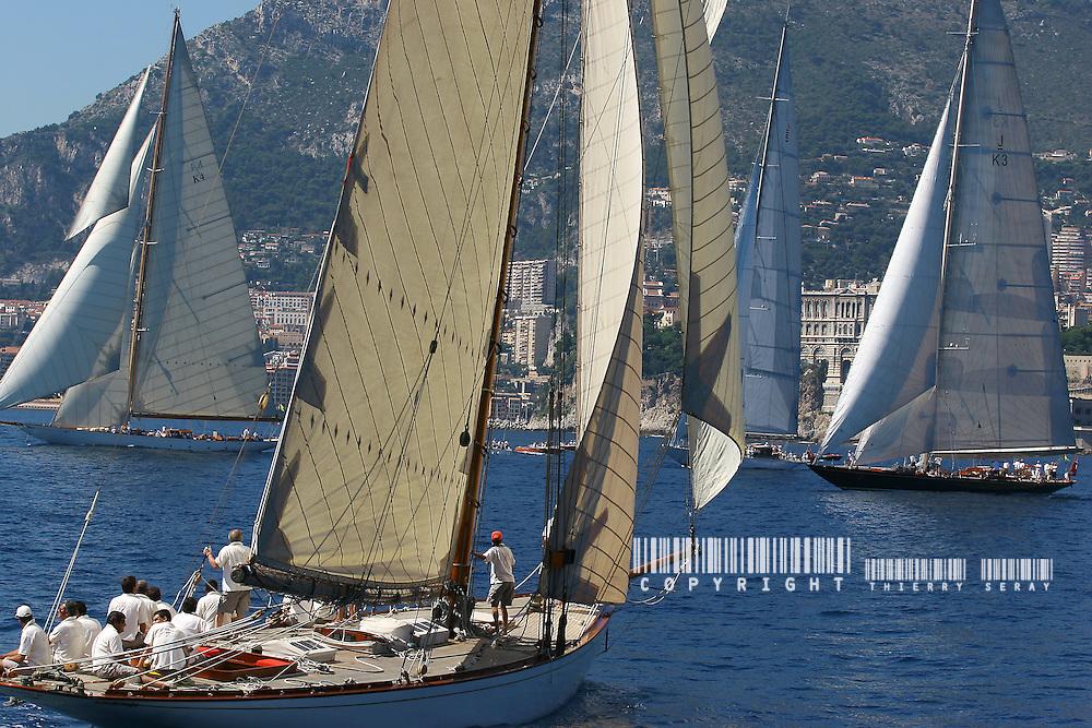 Monaco Classic Week. .8-bit grayscale flat JPEG file, 3504x2336 pixels