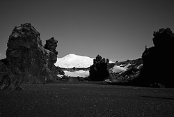 The glacier Snaefellsjokull, west part of Iceland - Snæfellsjökull