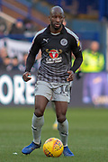 Sone Aluko of Reading during the EFL Sky Bet Championship match between Sheffield Wednesday and Reading at Hillsborough, Sheffield, England on 9 February 2019.