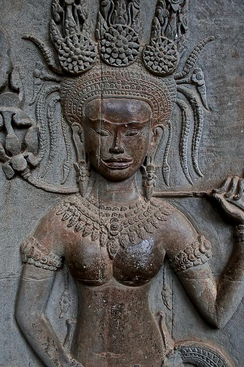 Immortal Carvings 01<br /> Apsaras bas reliefs