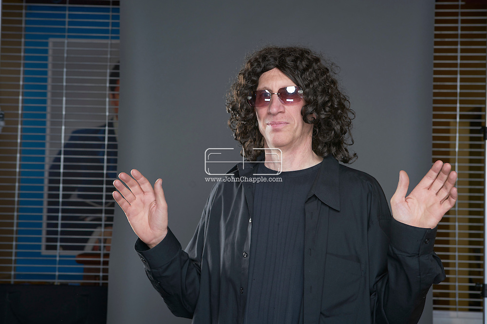 February 22, 2016. Las Vegas, Nevada.  The 22nd Reel Awards and Tribute Artist Convention in Las Vegas. Celebrity lookalikes from all over the world gathered at the Golden Nugget Hotel for the annual event. Pictured is  Howard Stern lookalike, Stewart Brodian.<br /> Copyright John Chapple / www.JohnChapple.com /