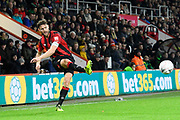 Simon Francis (2) of AFC Bournemouth crosses the ball during the The FA Cup match between Bournemouth and Luton Town at the Vitality Stadium, Bournemouth, England on 4 January 2020.