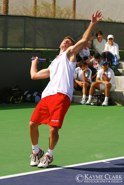 Juan Carlos Ferrero, Spain, ATP Player, Pacific Life Open Tennis Tournament, Indian Wells Tennis Garden, California, United States
