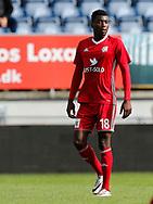 FODBOLD: Kevin Tshiembe (Lyngby BK) under kampen i Reserveligaen mellem Lyngby Boldklub og FC Helsingør den 11. september 2017 på Lyngby Stadion. Foto: Claus Birch