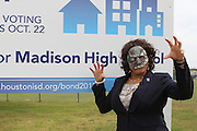 Vote Early Zombie at Madison High School