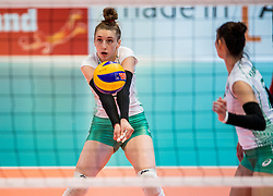 04-04-2017 NED:  CEV U18 Europees Kampioenschap vrouwen dag 3, Arnhem<br /> Rusland - Bulgarije 3-0 / Aleksandra Milanova #7