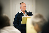 Chaplain Eric Erkkinen, assistant director of LCMS Ministry to the Armed Forces, gives the devotion during the 2015 Operation Barnabas Conference on Tuesday, Feb. 10, 2015, at Mount Calvary Lutheran Church in San Antonio, Texas.  LCMS Communications/Erik M. Lunsford