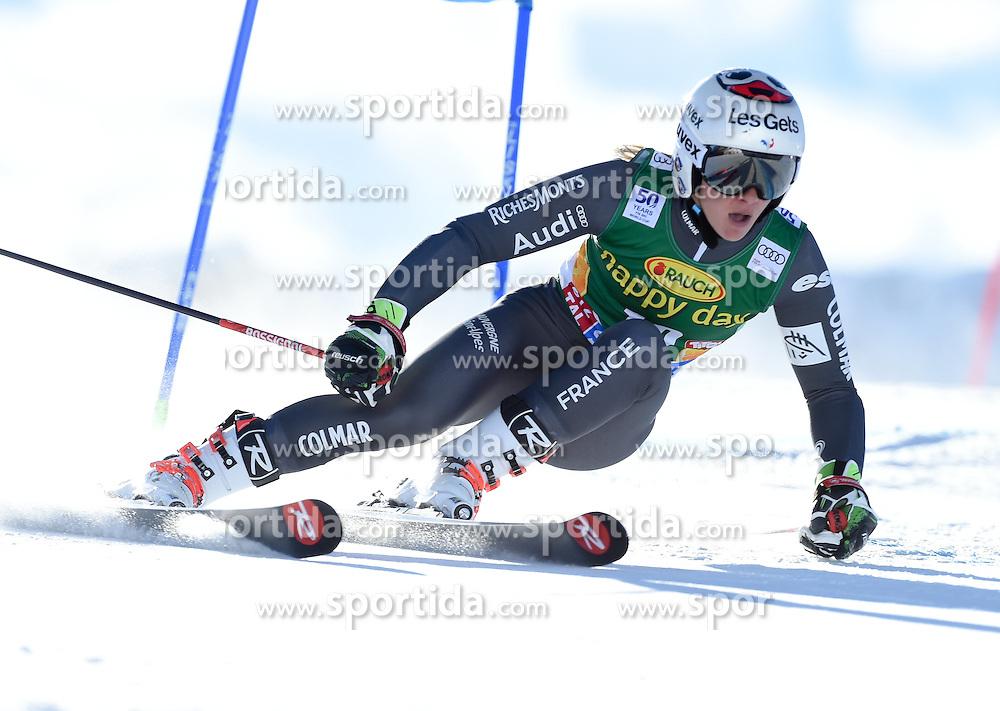 22.10.2016, Rettenbachferner, Soelden, AUT, FIS Weltcup Ski Alpin, Soelden, Riesenslalom, Damen, 1. Durchgang, im Bild Adeline Baud Mugnier of France // in action during 1st run of ladies Giant Slalom of the FIS Ski Alpine Worldcup opening at the Rettenbachferner in Soelden, Austria on 2016/10/22. EXPA Pictures © 2016, PhotoCredit: EXPA/ Erich Spiess