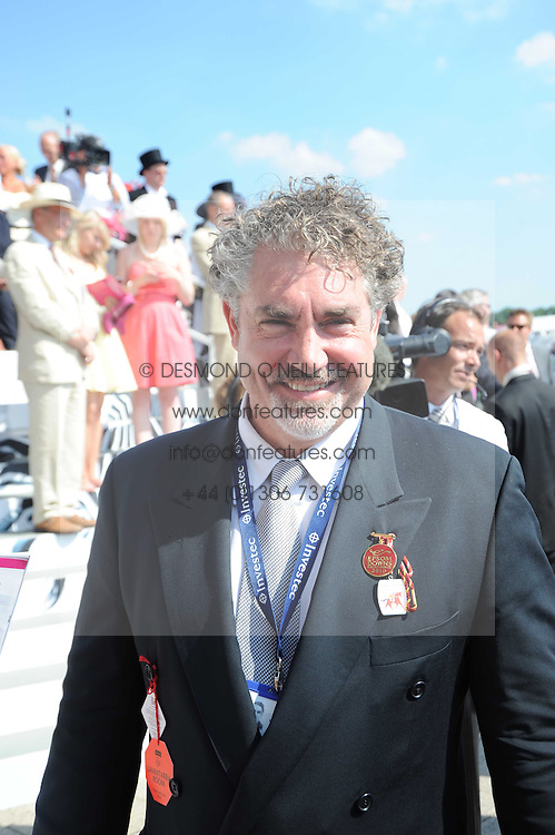 RAYMOND VAN NIEKERK at the Investec Ladies Day at Epsom Racecourse, Surrey on 4th June 2010.