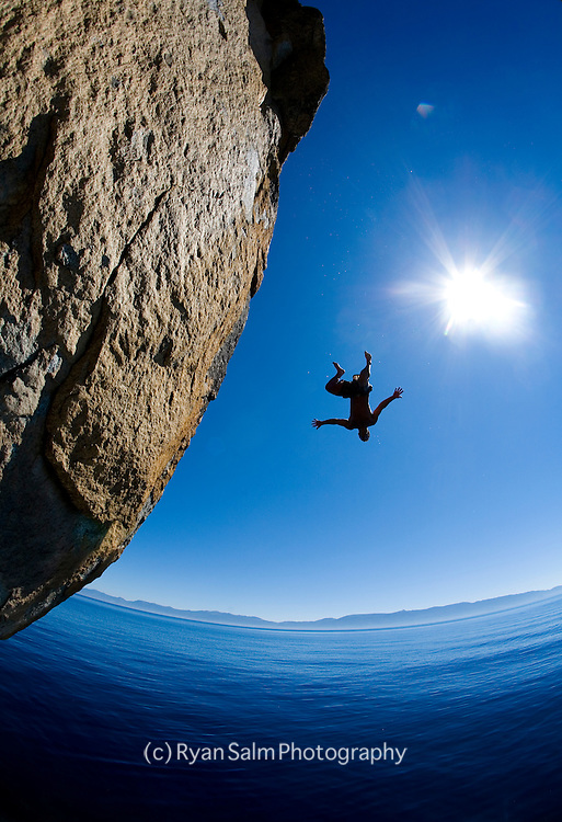 Cliff Diving<br /> Lake Tahoe
