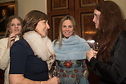 THEODORA HARMSWORTH; LULU HUTLEY; VISCOUNTESS ROTHERMERE, Charlton Hunt Ball at Goodwood House.  6 February 2016