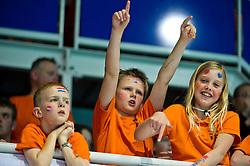 21-01-2012 WATERPOLO: EC NETHERLANDS - TURKEY: EINDHOVEN<br /> European Championships Netherlands - Turkey / Fans spectators support<br /> (c)2012-FotoHoogendoorn.nl / Peter Schalk