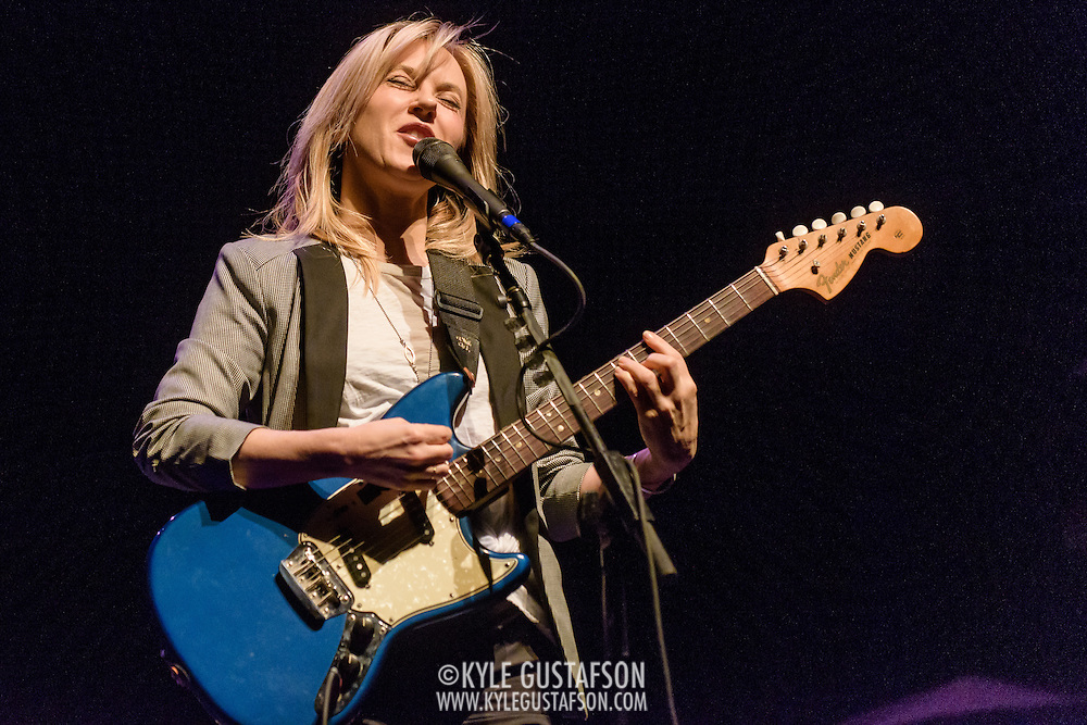 Liz Phair opens for the Smashing Pumpkins at the Lincoln Theatre in Washington, D.C. (Photo by Kyle Gustafson)