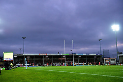 A general view of Sandy Park  - Mandatory by-line: Ryan Hiscott/JMP - 29/12/2019 - RUGBY - Sandy Park - Exeter, England - Exeter Chiefs v Saracens - Gallagher Premiership Rugby