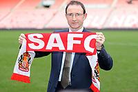 Martin O'Neal Sunderland Press Conference <br /> Martin O'Neal (Sunderland manager) at the Stadium of Light.