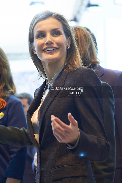 Queen Letizia of Spain attended the Opening of Internacional Tourism Fair (FITUR) at Feria de Madrid on January 28, 2015 in Madrid
