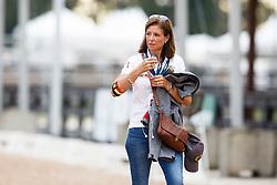 De Bondt Carmen, BEL, <br /> Tryon - FEI World Equestrian Games™ 2018<br /> Backgroundbilder vom Abreiteplatz<br /> Grand Prix de Dressage Teamwertung und Einzelqualifikation<br /> 13. September 2018<br /> © www.sportfotos-lafrentz.de/Sharon Vandeput