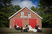 wedding photography at Waterloo Regional Museum