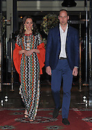 Kate Middleton & Prince William Bhutan Dinner