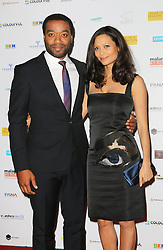 © Licensed to London News Pictures. 08/04/2014, UK. Chiwetel Ejiofor; Thandie Newton, Half of a Yellow Sun Film Premiere, Odeon Streatham, London UK, 08 April 2014. Photo credit : Richard Goldschmidt/Piqtured/LNP