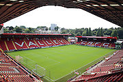 Charlton Athletic ground, The Valley during the EFL Sky Bet Championship match between Charlton Athletic and Bolton Wanderers at The Valley, London, England on 27 August 2016. Photo by Matthew Redman.