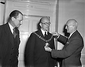 1958 - Election of new President of Dublin Chamber of Commerce
