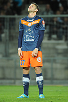 FOOTBALL - FRENCH CHAMPIONSHIP 2011/2012 - L1 - MONTPELLIER HSC v EVIAN TG - 1/05/2012 - PHOTO SYLVAIN THOMAS / DPPI - OLIVIER GIROUD (MHSC)