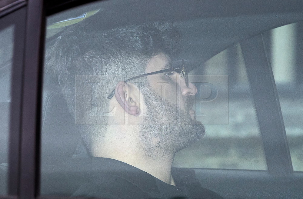 © Licensed to London News Pictures. 29/03/2017. London, UK. FEDI FAWAZ, partner of George Michael, leaves the service. The funeral of pop singer George Michael takes place at Highgate Cemetery in north London. George Michael died unexpectedly at his home in North London in what a coroner ruled to be natural circumstances. Photo credit: Ben Cawthra/LNP