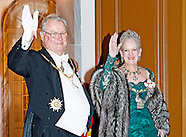 Danish royal family attend New Years reception 2015