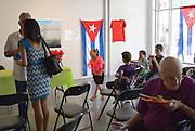 The annual Cuban Canadian Friendship Association Windsor meeting is part of MayWorks Windsor labour arts festival. The informal pre-meeting with the Cuban Consul General is certainly more action filled -- at least when the children run around. The Consul General in Toronto spoke with mostly ex pat Cubans about new economic and political reforms.