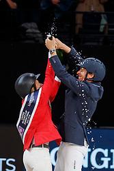 MADDEN Elizabeth (USA), VON ECKERMANN Henrik (SWE)<br /> Paris - FEI World Cup Finals 2018<br /> Longines FEI World Cup Jumping Final IV<br /> www.sportfotos-lafrentz.de/Stefan Lafrentz<br /> 15. April 2018