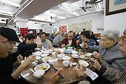 Central. Lin Heung Tea House, a traditional dim sum restaurant.