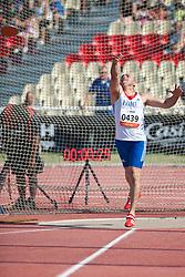 ETIENNE Eric, FRA, Discus, F42, 2013 IPC Athletics World Championships, Lyon, France