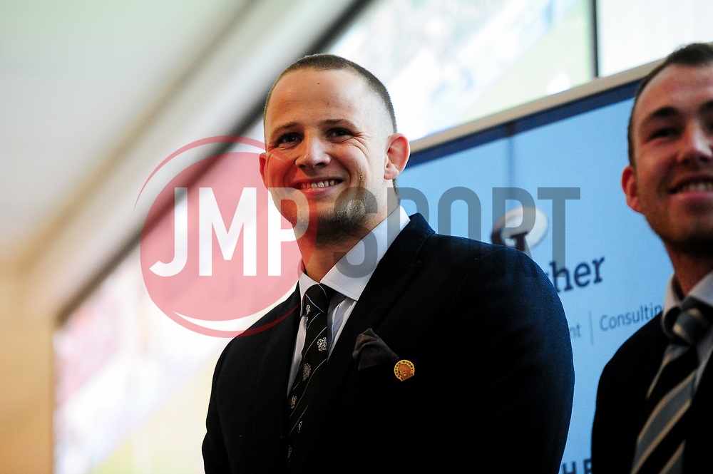 Johnny Hill prior to kick off - Mandatory by-line: Ryan Hiscott/JMP - 14/04/2019 - RUGBY - Sandy Park - Exeter, England - Exeter Chiefs v Wasps - Gallagher Premiership Rugby