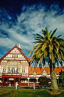The Bath House, Government Gardens, Rotorua, north island, New Zealand