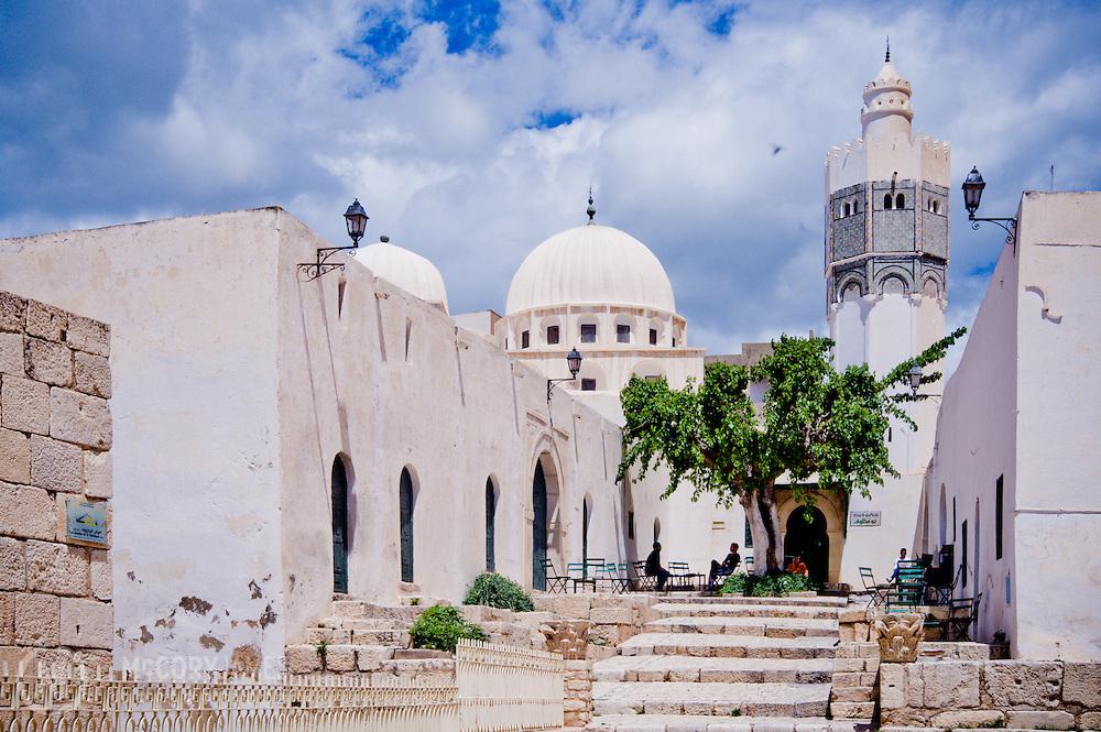 A local mosque in Le Kef, Tunisia