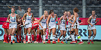 ANTWERP - BELFIUS EUROHOCKEY Championship.   Germany-England (1-1) women . Germany scored 1-1 and celebrating the goal. WSP/ KOEN SUYK